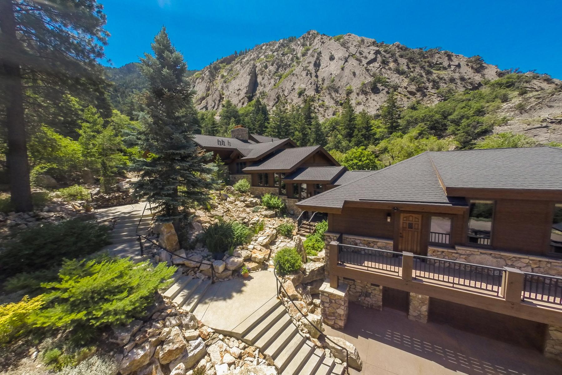 Edgecliff Mountain Retreat Ogden Canyon Utah